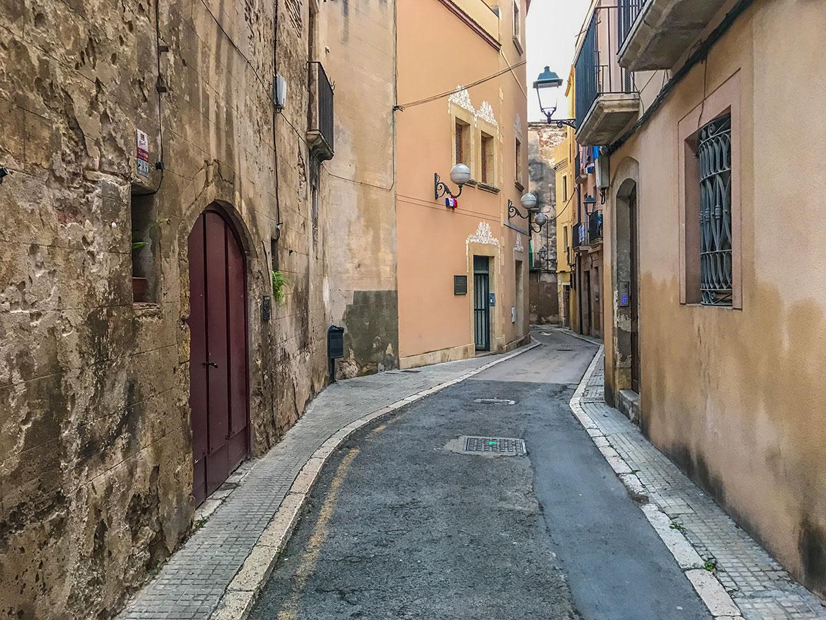 Spanien, Katalonien, Tarragona, Gasse