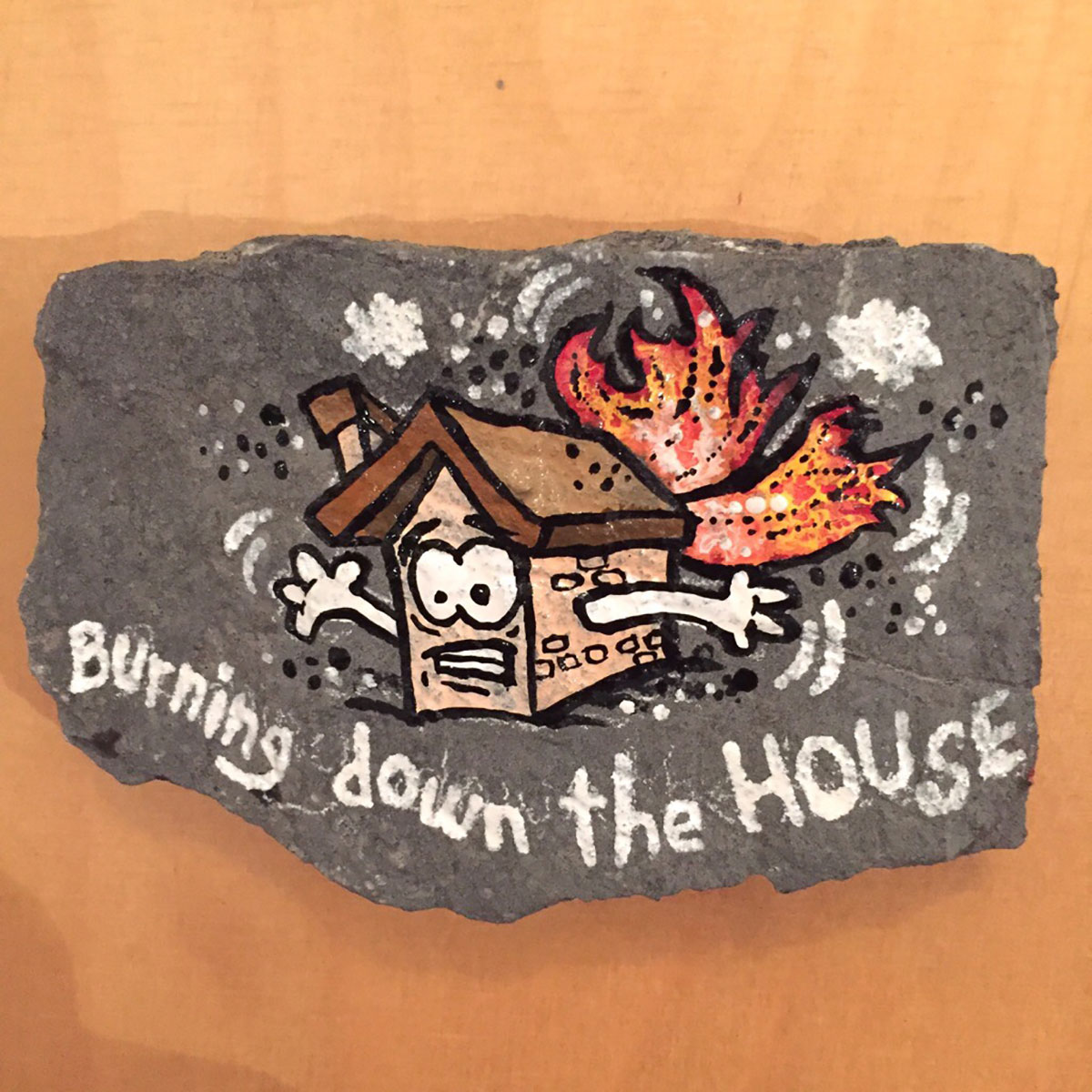 "Warstein, Hillenberg, Route "" Burning Down The House"", 8+/9-"