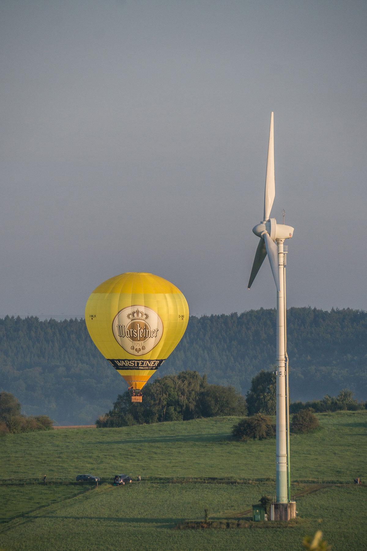 Warsteiner Ballontreffen, Montgolfiade 2017