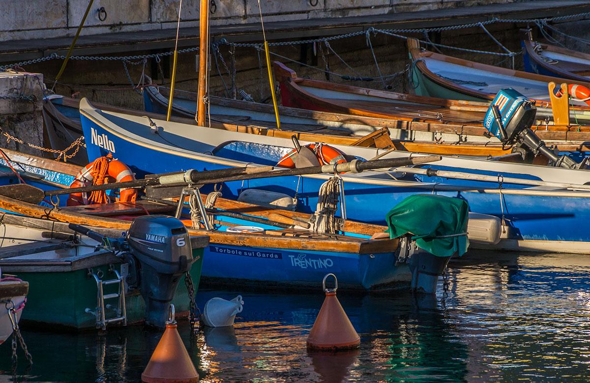Hafen von Torbole