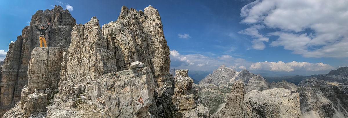 Kleine Zinne, Gipfelkreuz