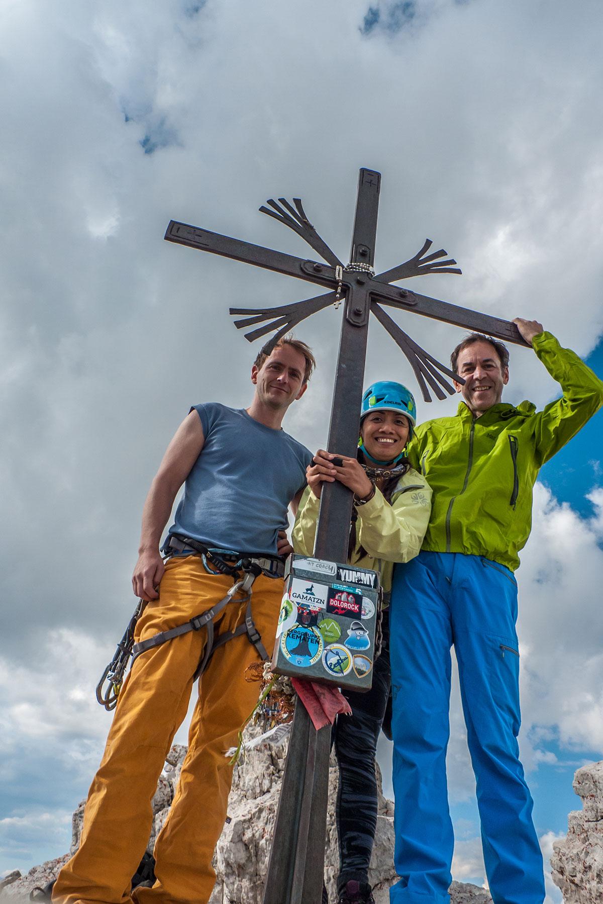 Dolomiten, Gipfelkreuz Grosse Zinne