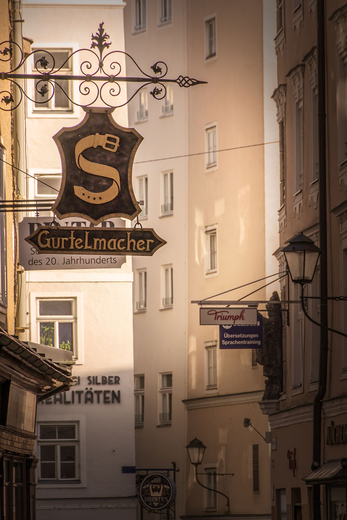 Salzburg, Gasse, Gürtelmacher