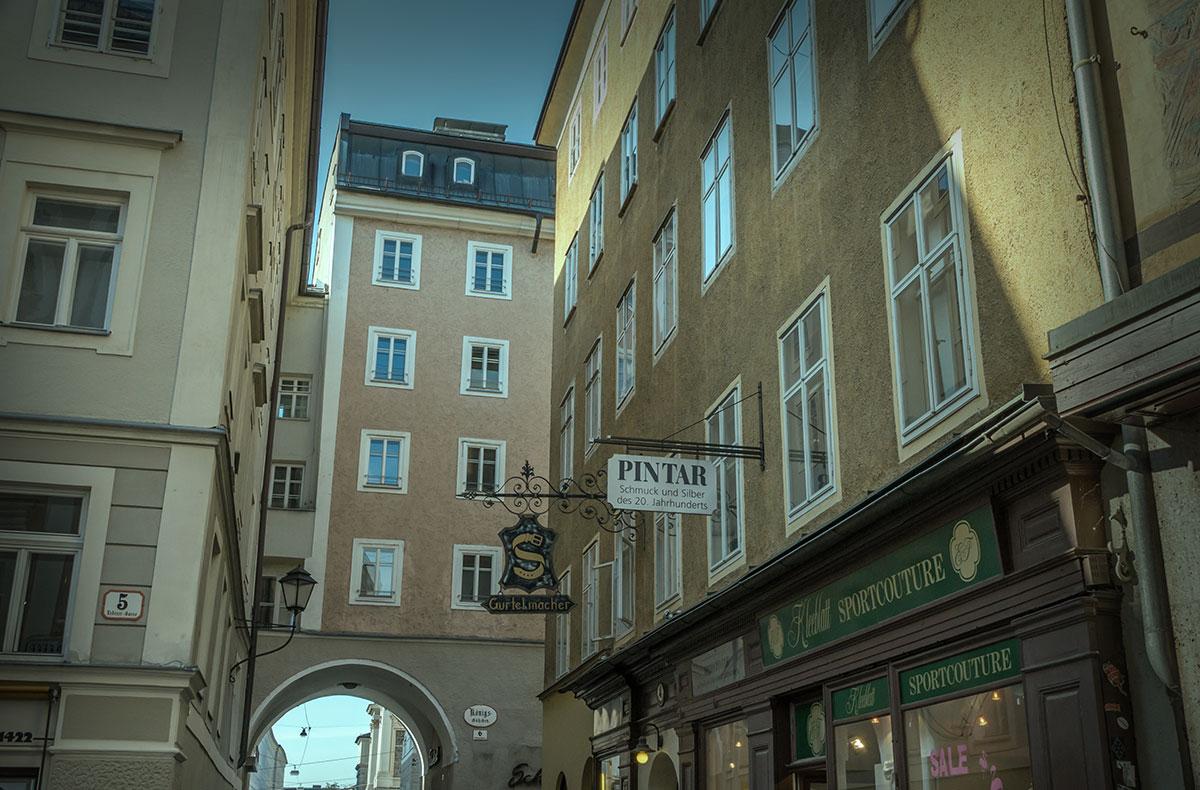 Salzburg, Gasse