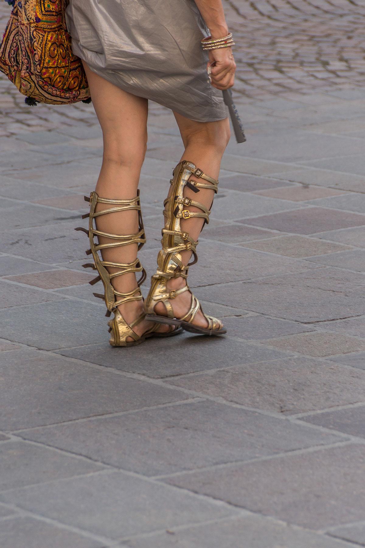 Salzburg, Fußbekleidung