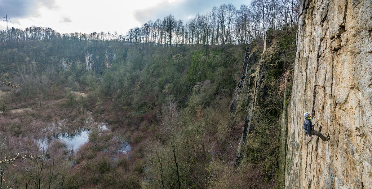 Bochumer Bruch, Drei Zinnen, Route
