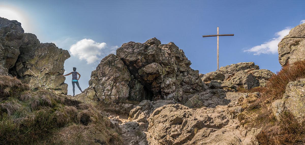 Bruchhauser Steine - Gipfelkreuz
