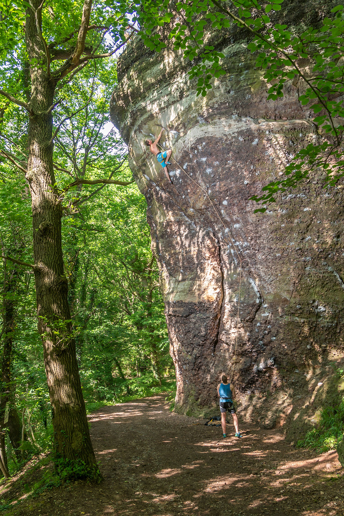 Eifel, 3ter Hinkelstein, Route