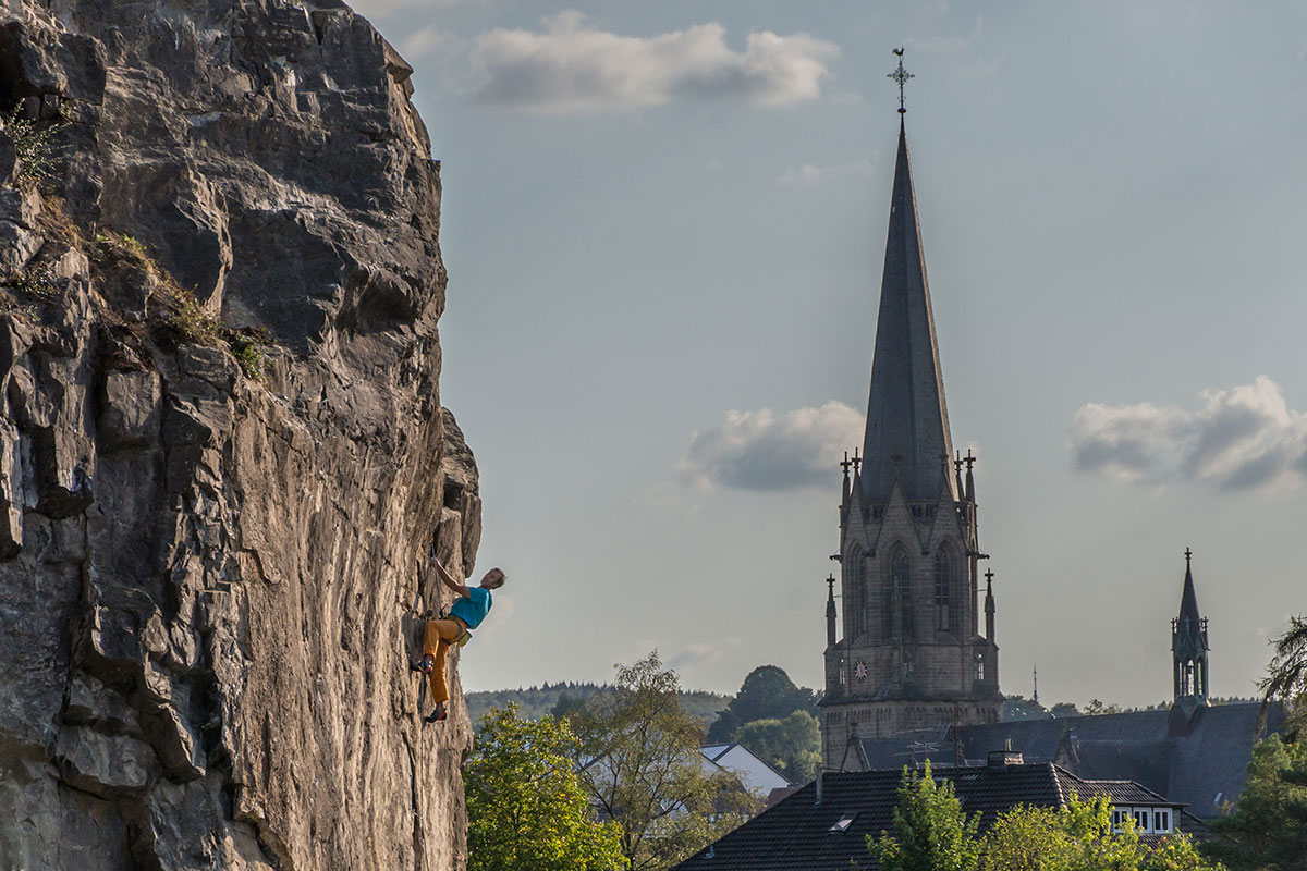 Warstein, Oberhagen, Route
