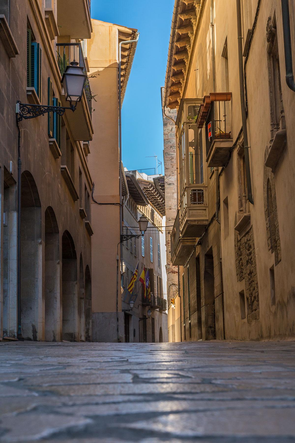 Mallorca, Palma, Gasse