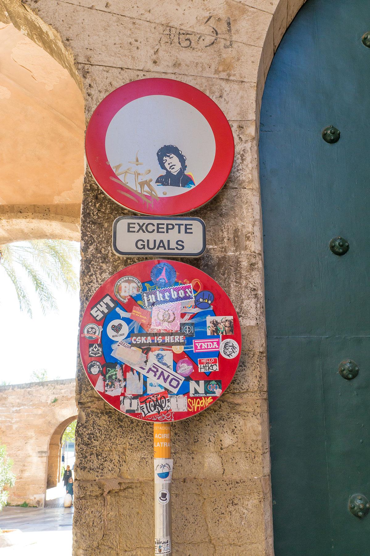Mallorca, Palma, Graffity