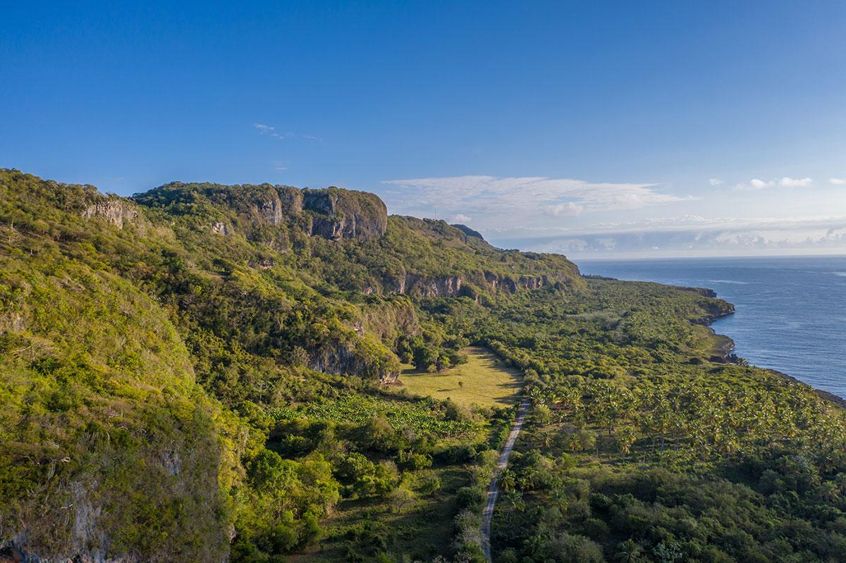 Dominikanische Republik, Küste der Playa Fronton