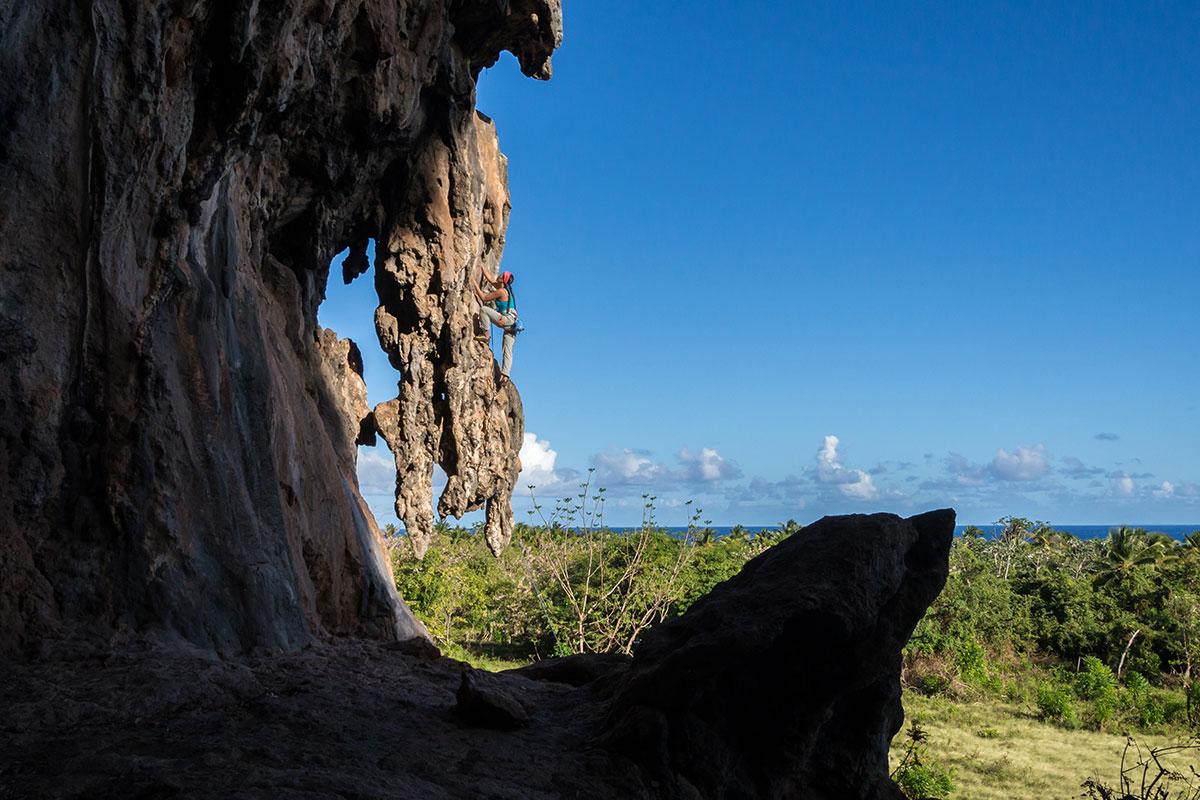 Dominikanische Republik, Playa Fronton bei Las Galeras, Sektor Jerry, Route
