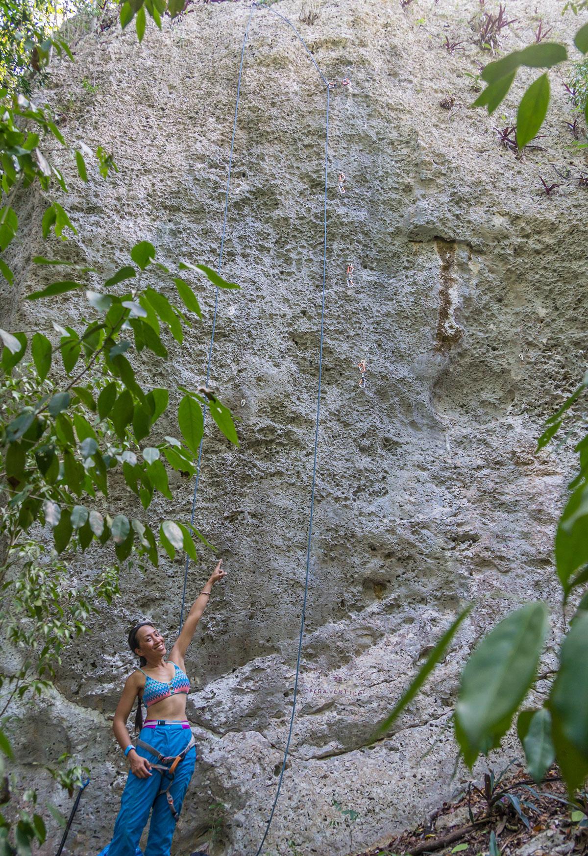 Dominikanische Republik, Felsen von Bayahibe, Route
