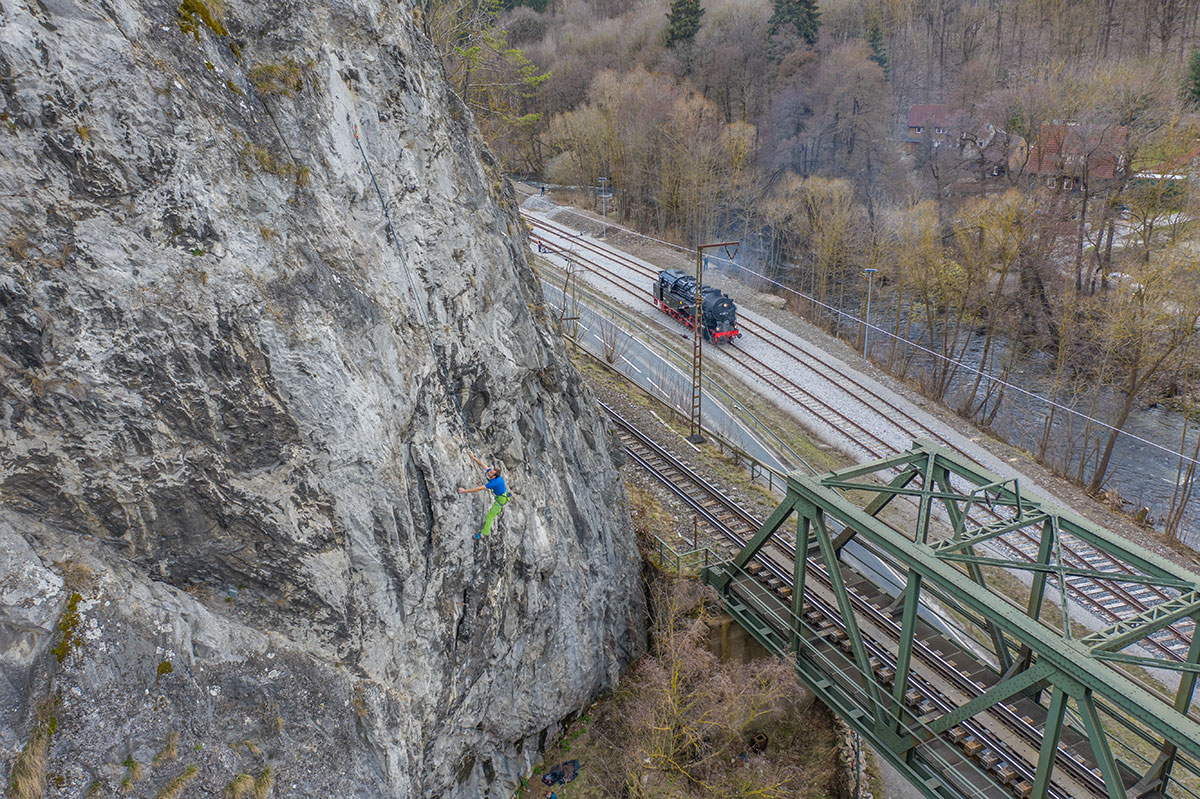 Harz, Rübeländer Zahn, route