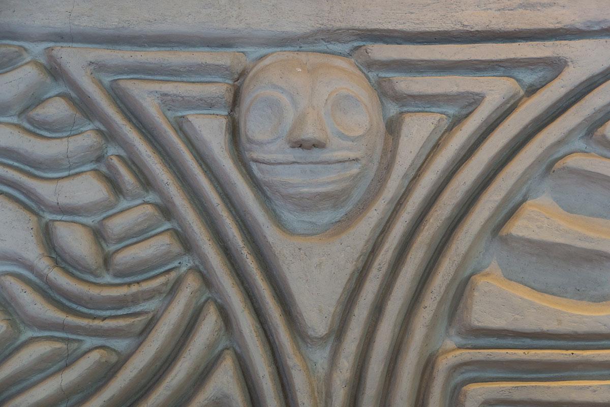 Dominikanische Republik, dämonisches Gesicht