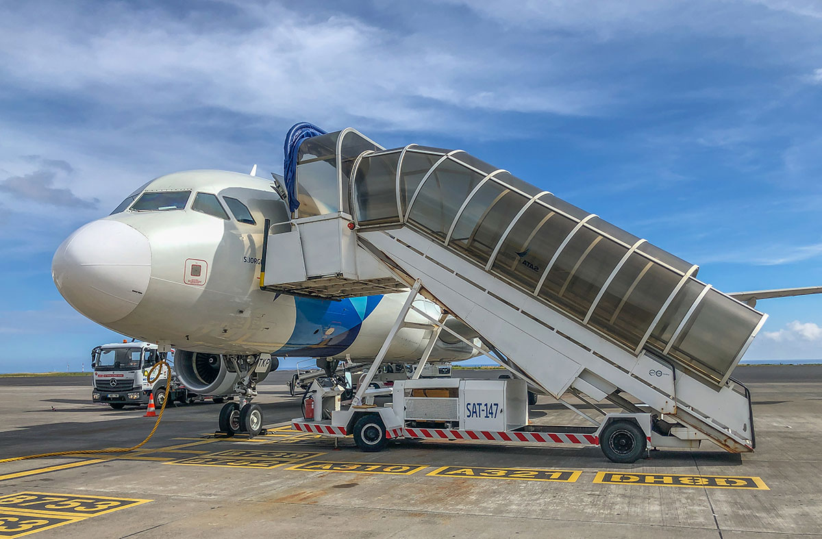 Azoren, Faial, Flughafen