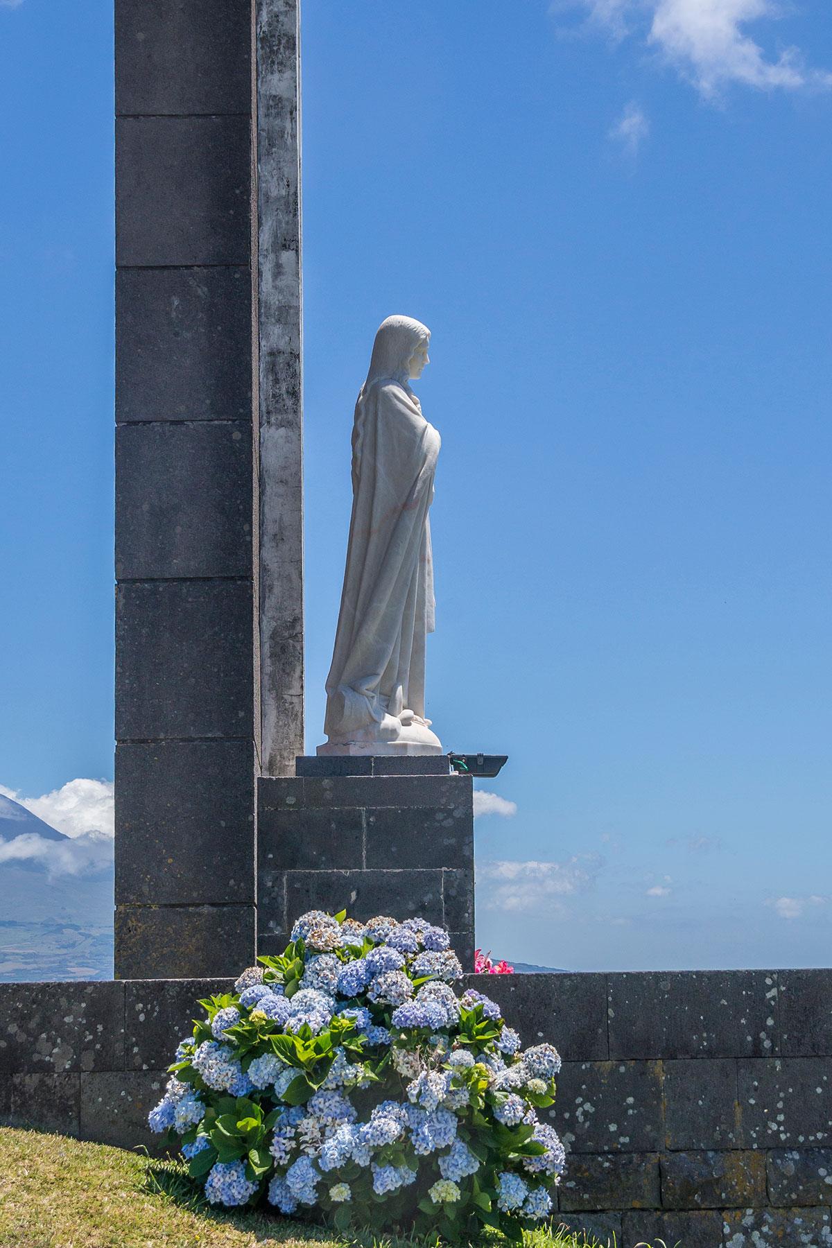 Azoren, Faial, Miradouro de Nossa Senhora da Conceicao