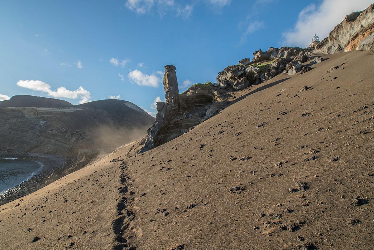 Azoren, Faial, Capelinhos Vulkan