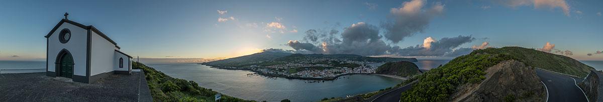 Azoren, Faial, Horta, Monte da Guia