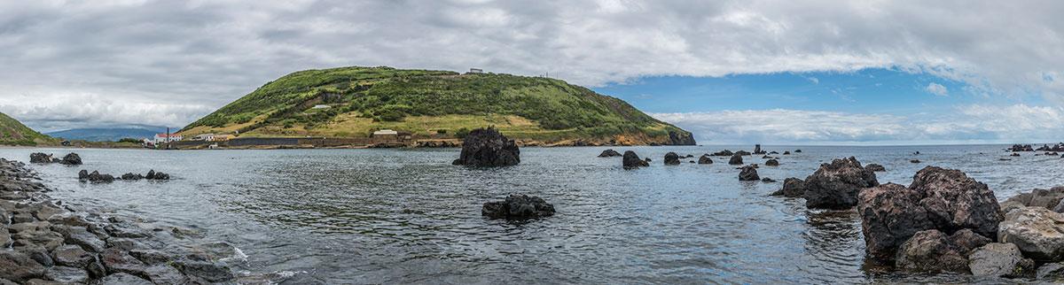Azoren, Faial, Horta, Küste