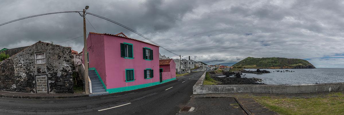 Azoren, Faial, Küstenstrasse