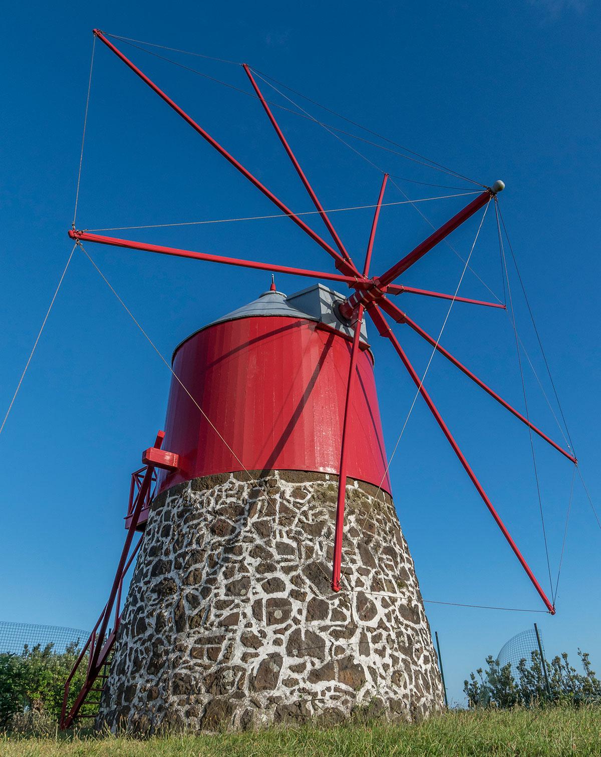Azoren, Faial, Windmühle