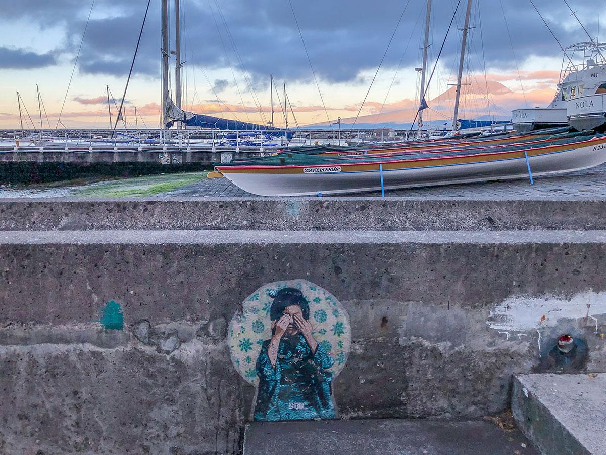 Azoren, Faial, Hafen