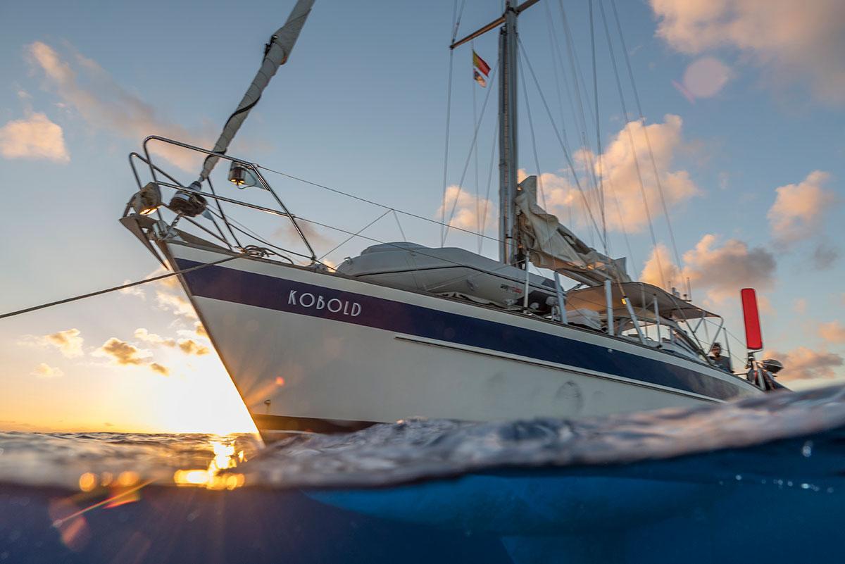 Azoren, Segelschiff an den Princess Alice Banks