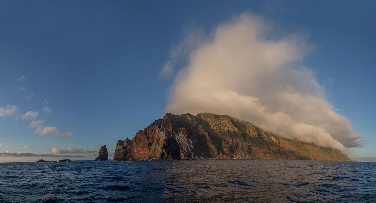 Azoren, Küste von São Jorge