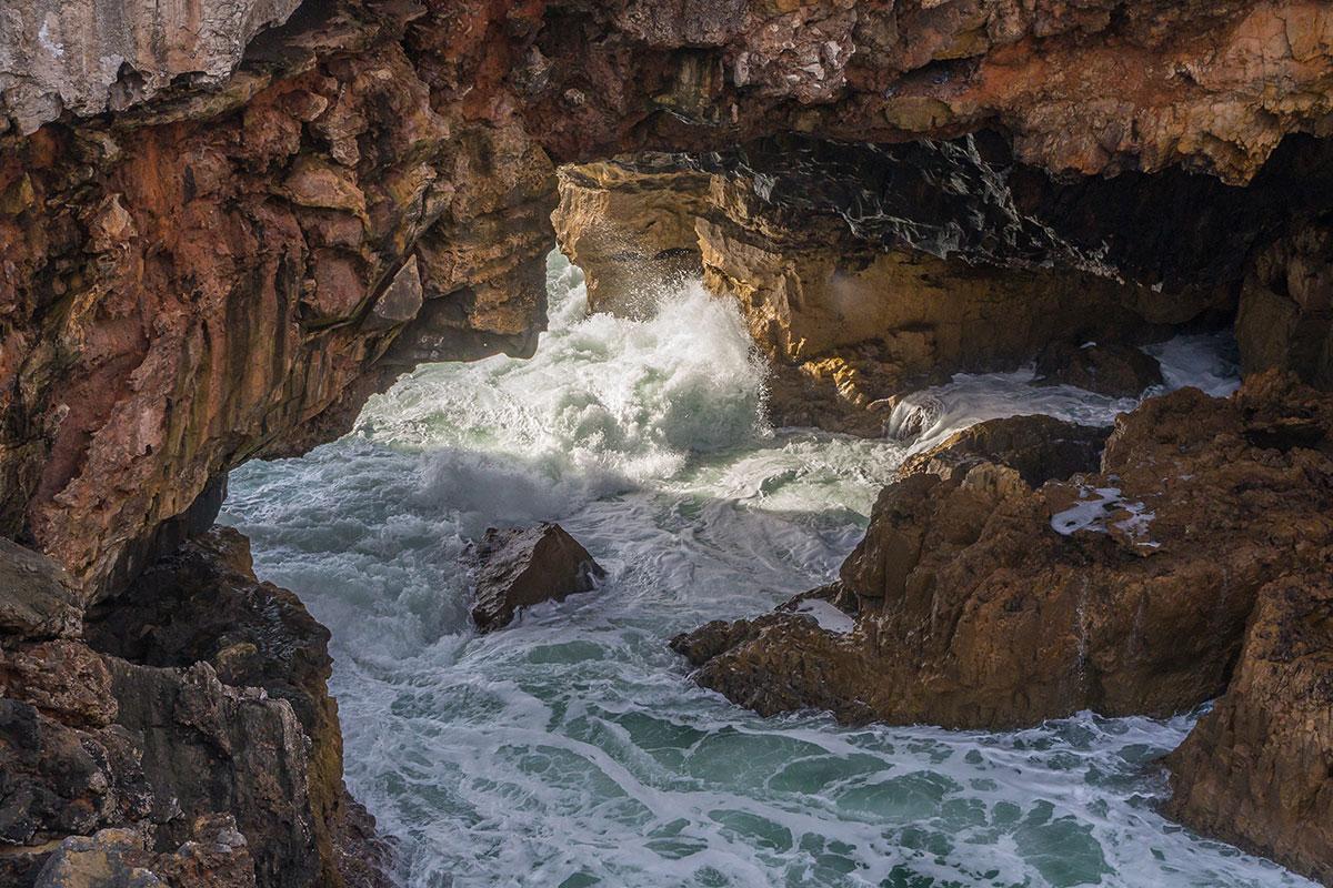 Portugal, Cascais, Boca do Inferno