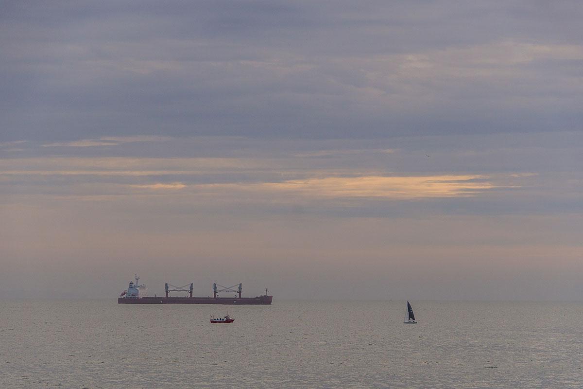 Portugal, Cascais, Schiffe