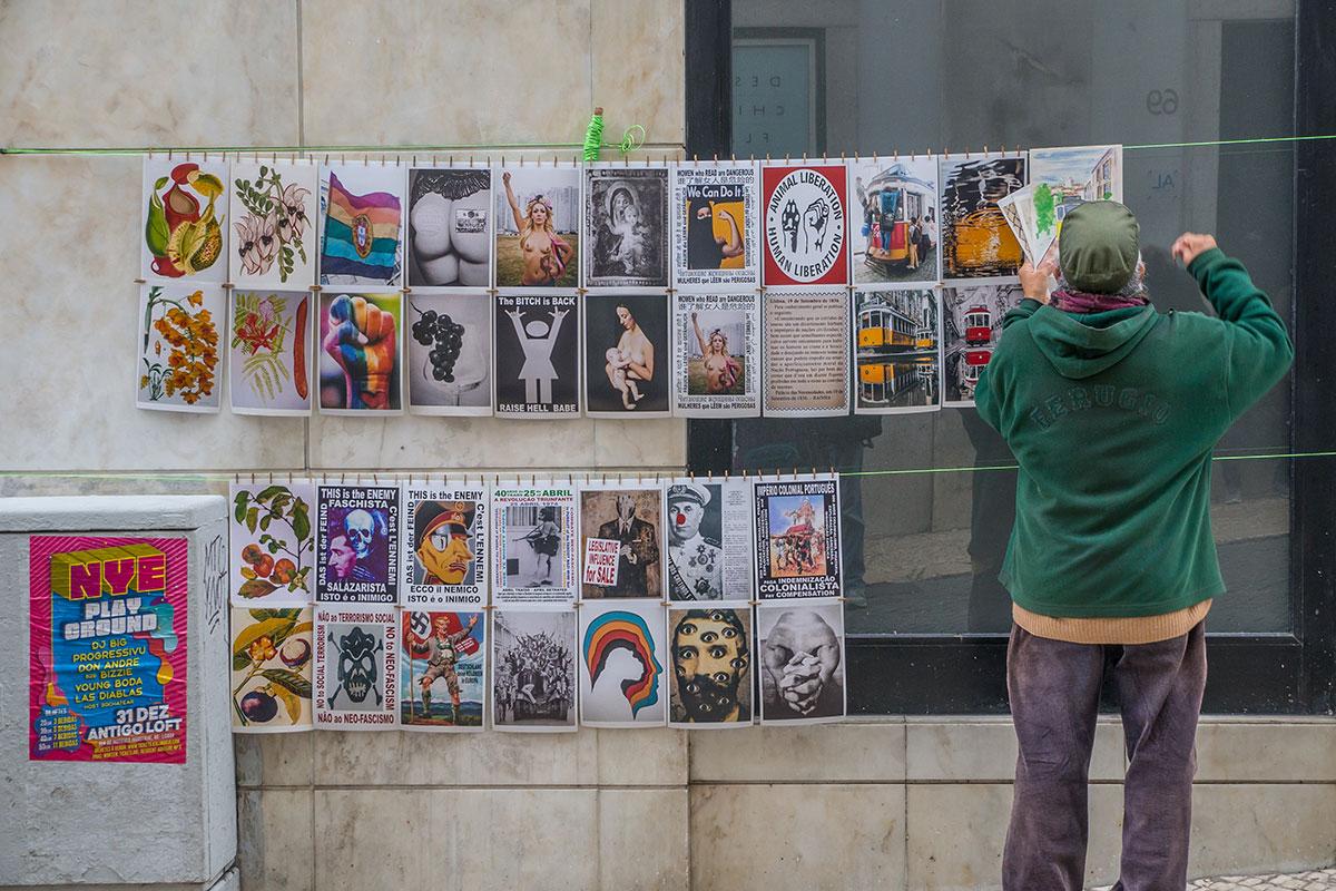 Portugal, Lissabon, Künstler