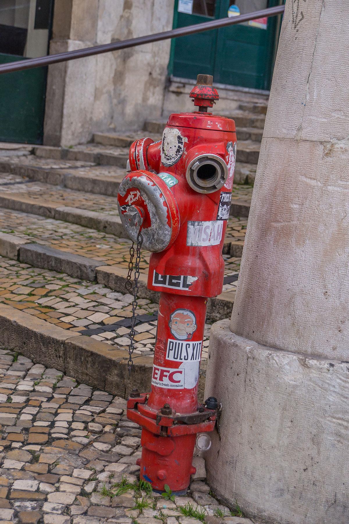 Portugal, Lissabon, Hydrant