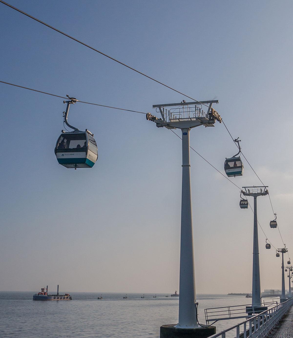 Portugal, Lissabon, Teleférico do Parque das Nações