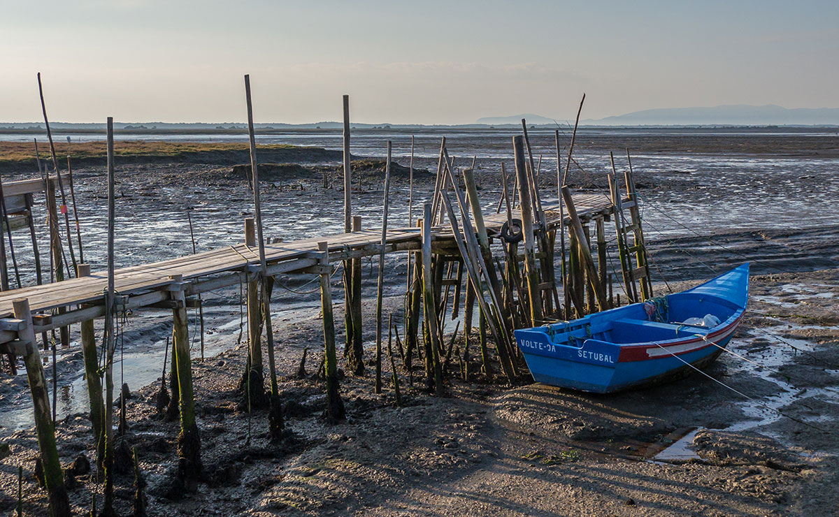 Portugal, Reserva Natural do Estuário do Sado, Cais Palafítico da Carrasqueira