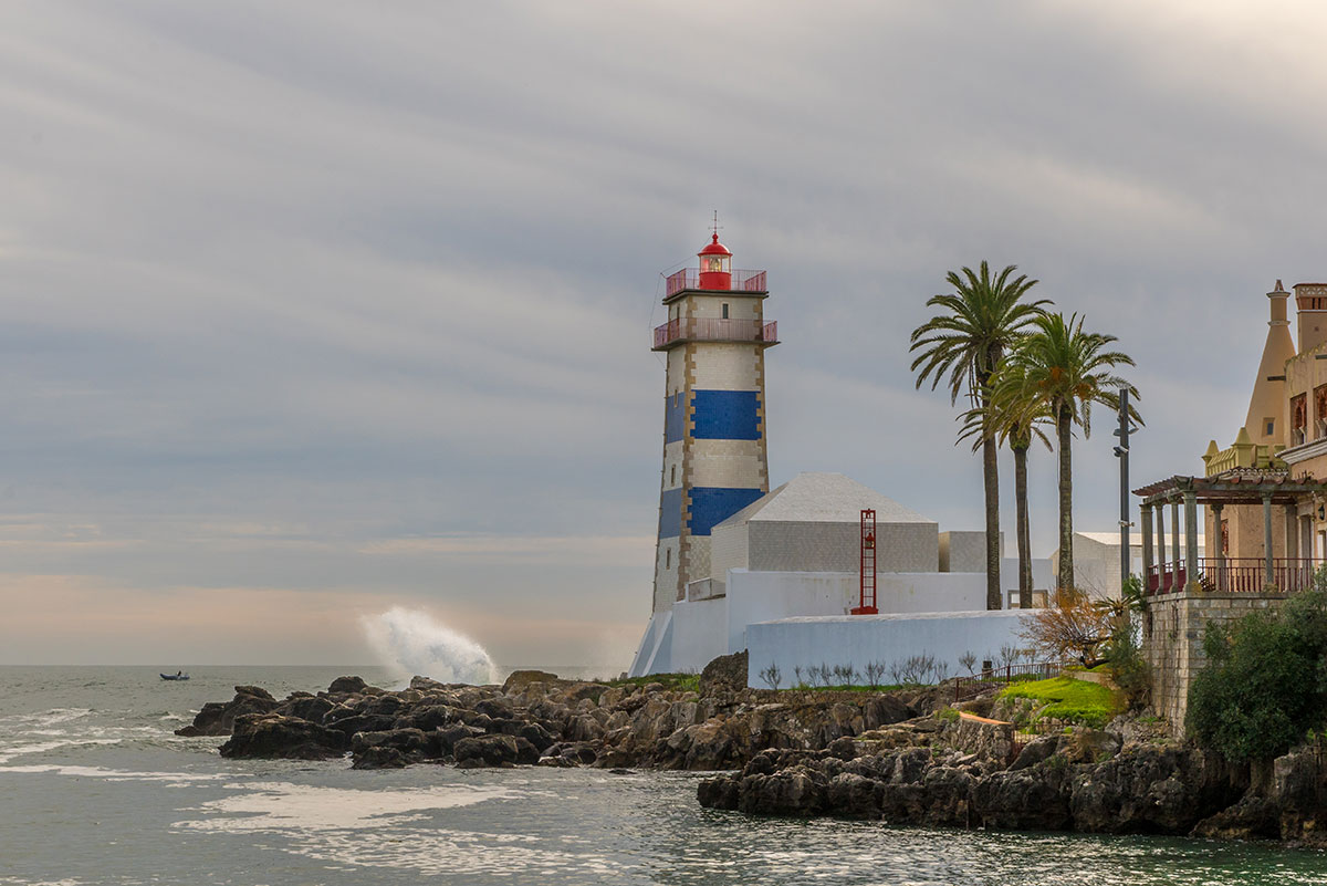 Portugal, Cascais, Leuchtturm
