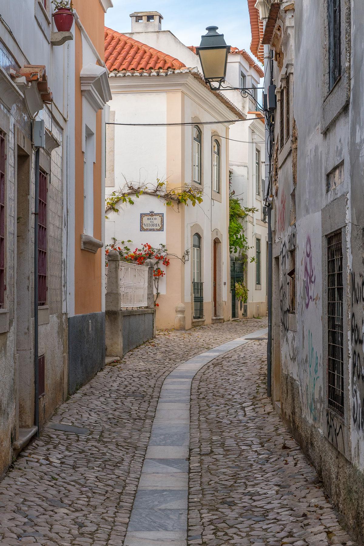 Portugal, Cascais, Gasse