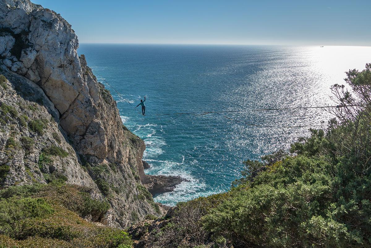 Portugal, Meio Mango, Slackline