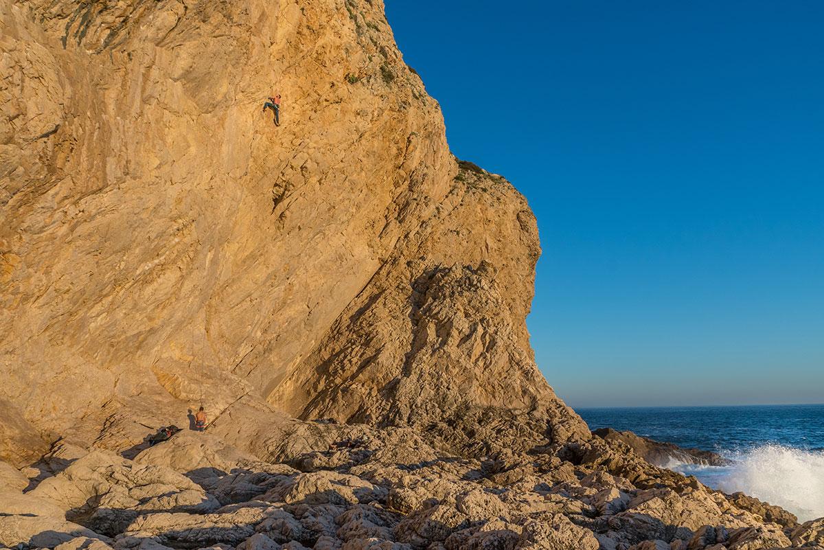 Portugal, Cabo Espichel, Meio Mango, Route