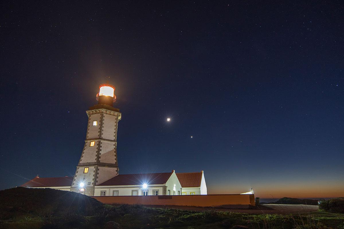 Portugal, Cabo Espichel, Leuchtturm