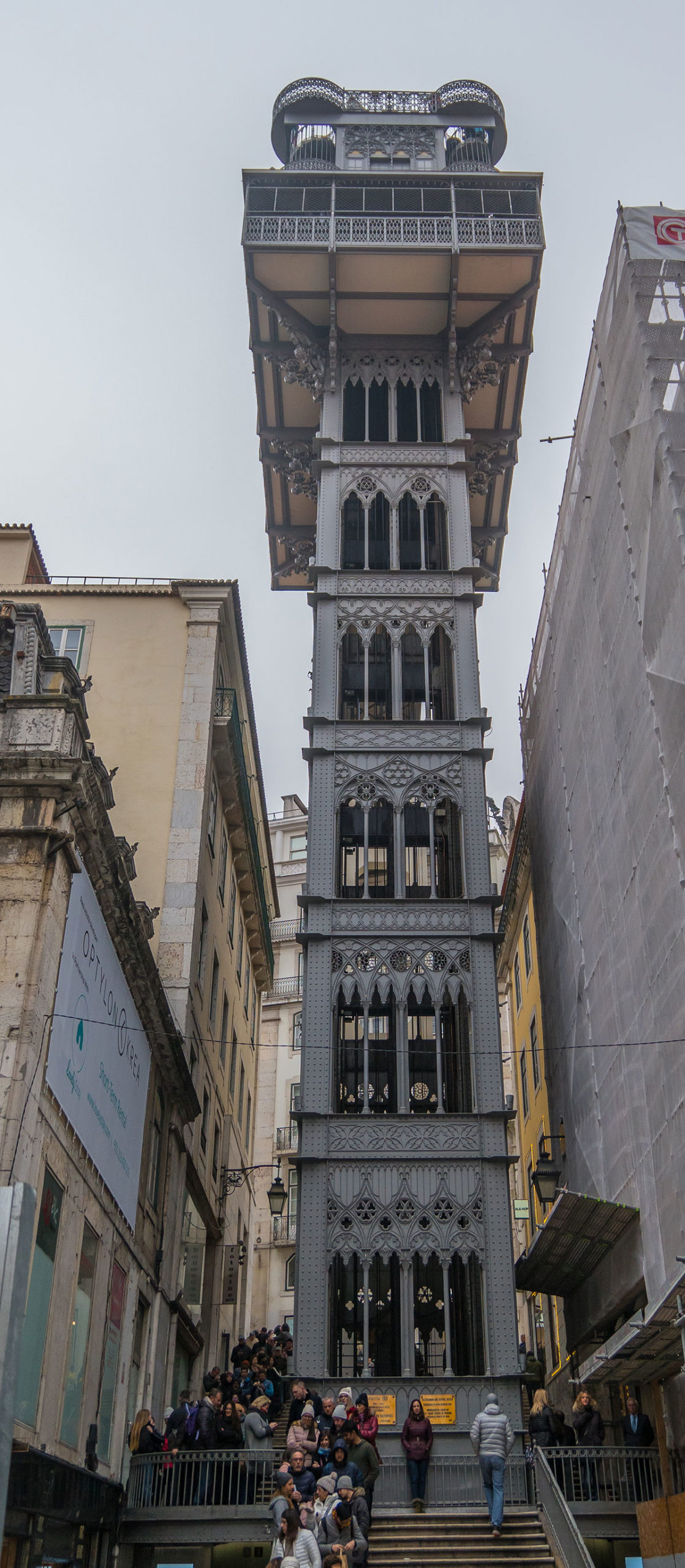 Portugal, Lissabon, Elevador de Santa Justa
