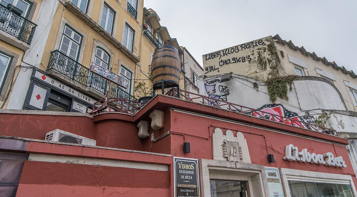 Portugal, Lissabon, Lisboa Bar
