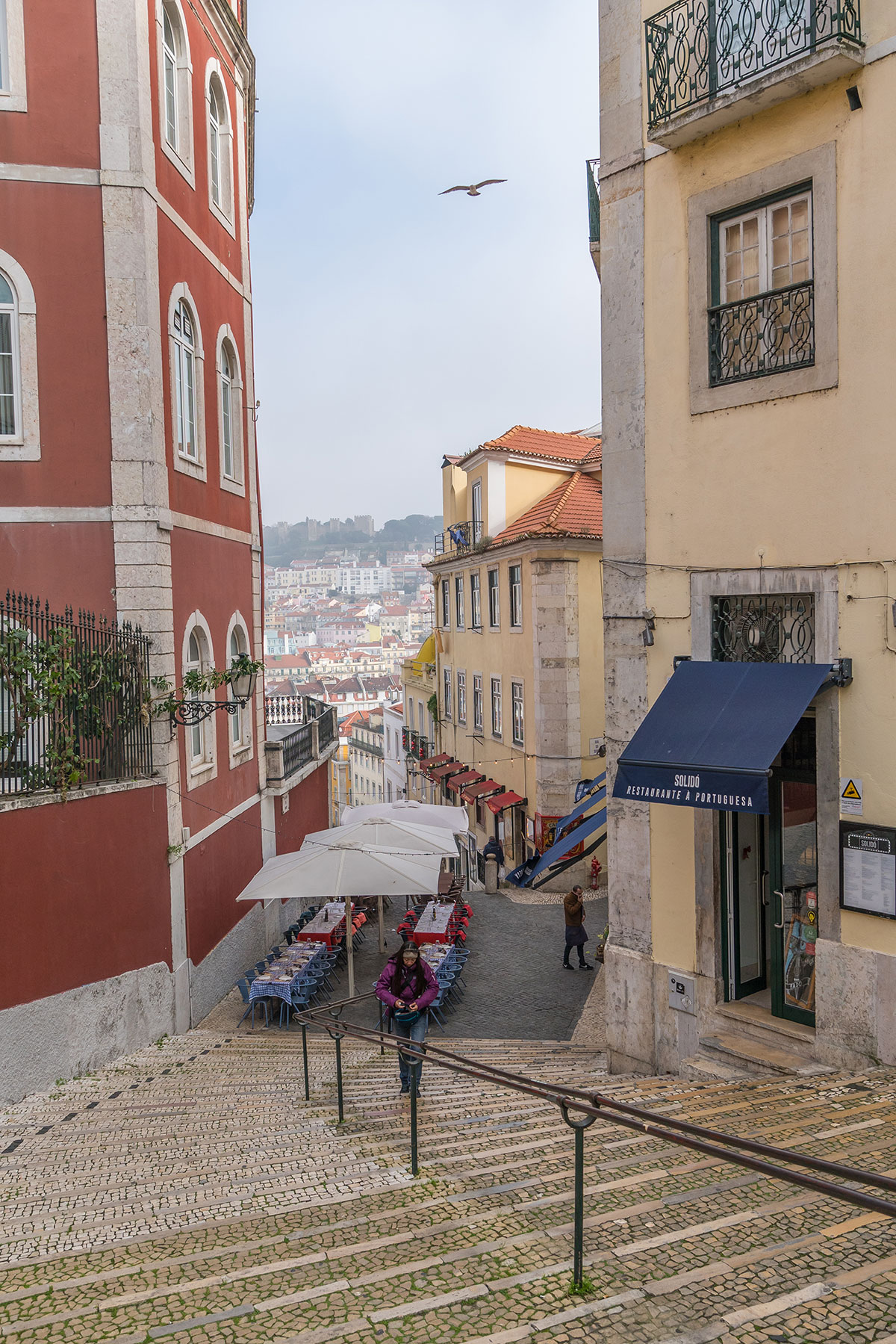 Portugal, Lissabon, Strassenszene