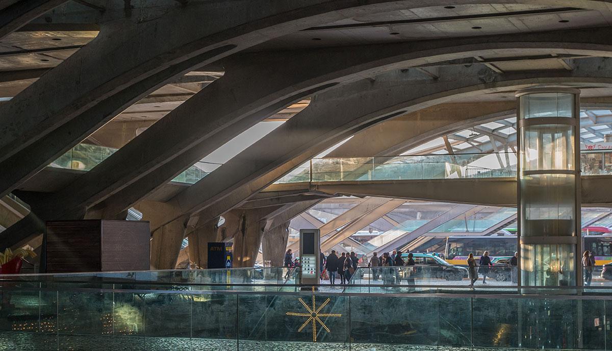 Portugal, Lissabon, Estação do Oriente