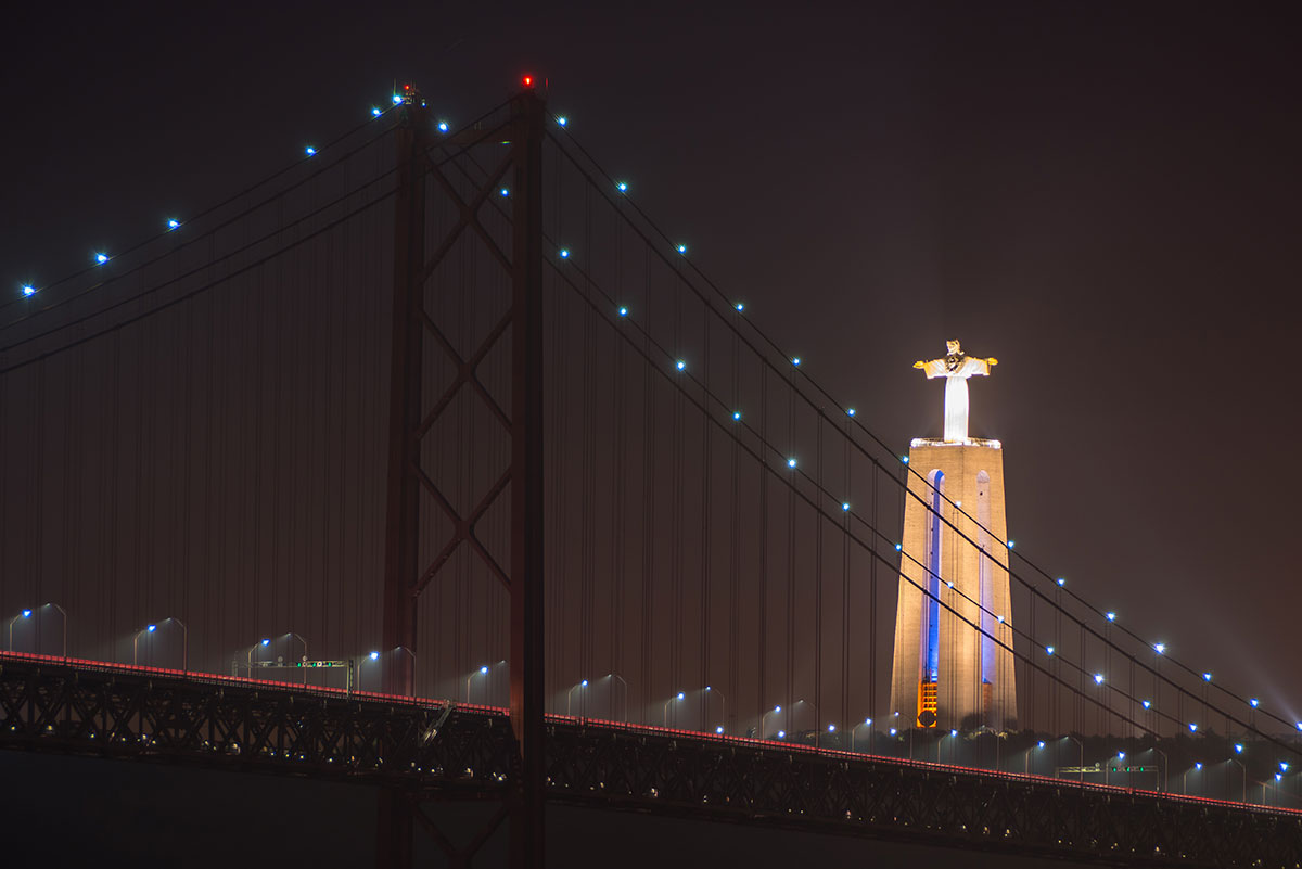 Portugal, Lissabon, Ponte 25 de Abril, Cristo Rei Statue