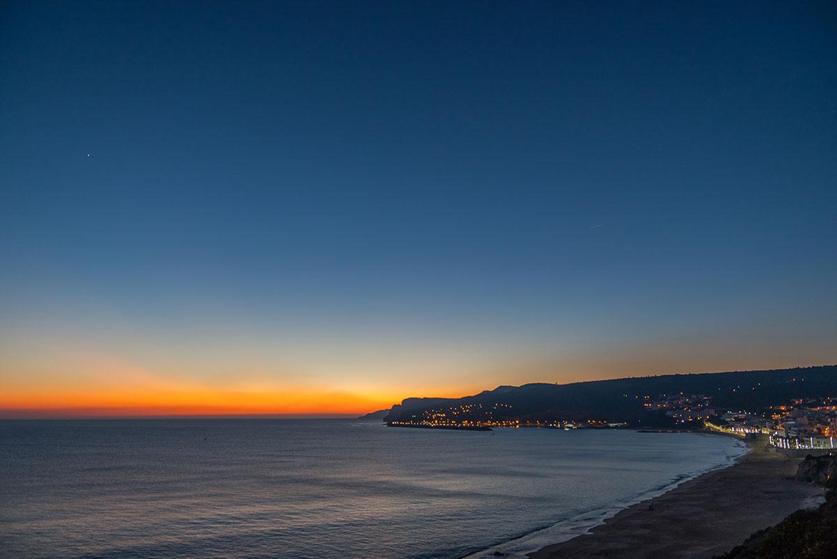 Portugal, Küste bei Sesimbra