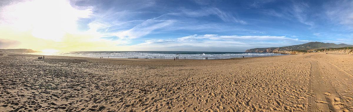 Praia Grande do Guincho, Weg zum Strand