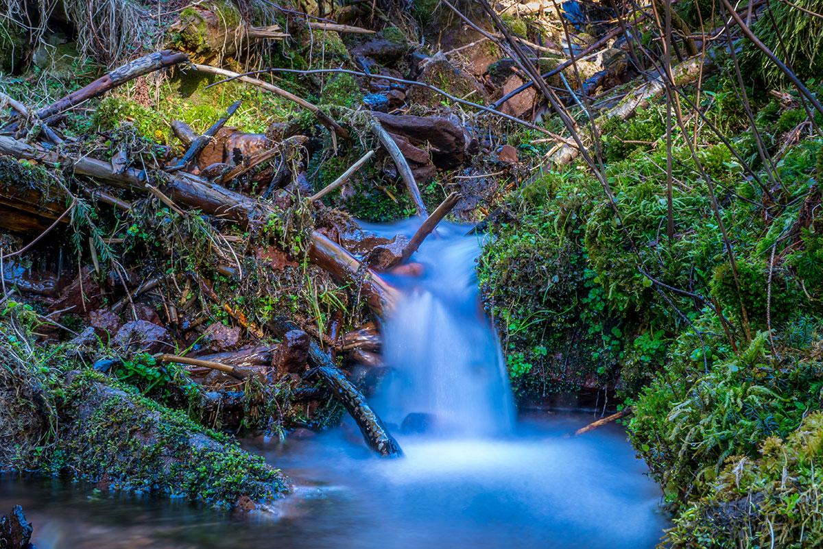 Thüringer Wald, Wasserfall