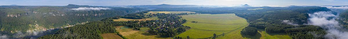 Elbtal, Panorama